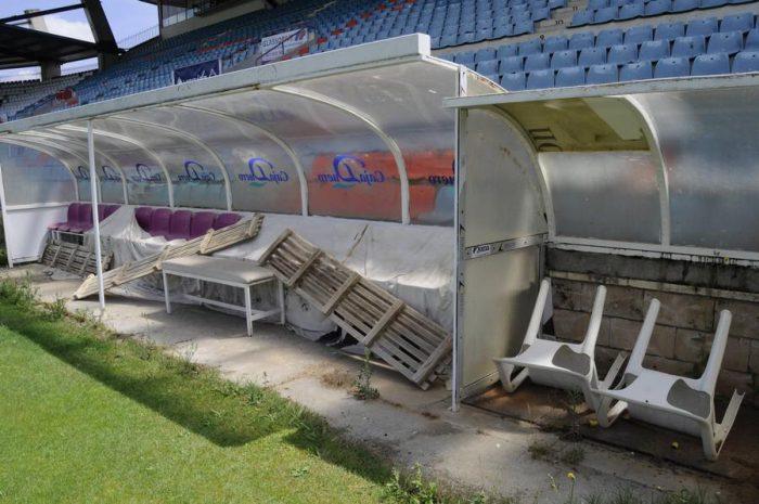 Estadio Futbol Helmantico Lugares Abandonados Salamanca Abandoned Spain España Urbex