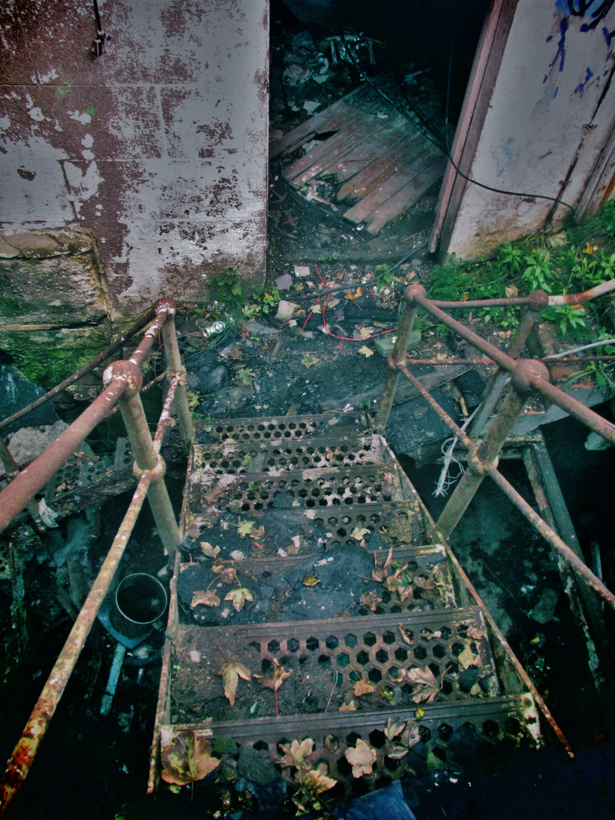 Abandoned Dun Laoghaire Baths, Dublin (Ireland) - Derelict World Photography – Lainey Quinn