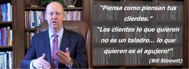 Piense Como Su Cliente, Bill Stinnett, Think Like Your Customer!
