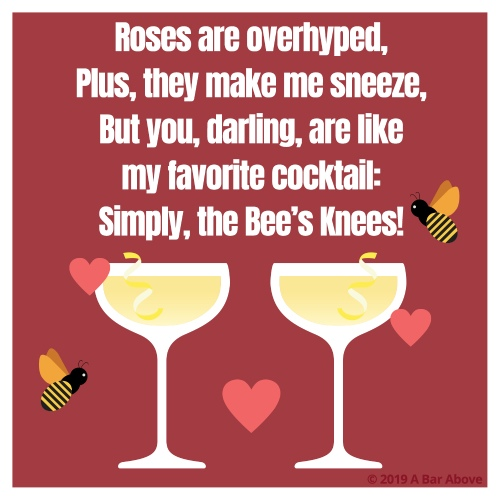 Valentines for Bartenders & Cocktail Lovers