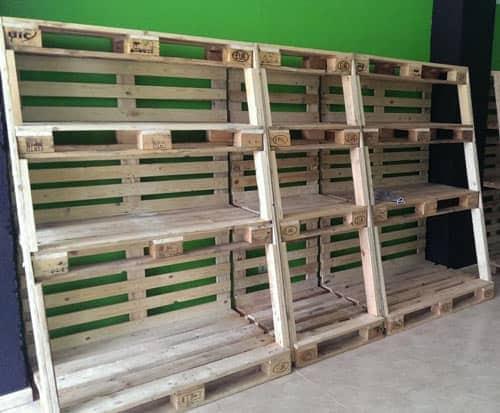 Elije bien el mobiliario para tu tienda de abarrotes - Estanterias para palets ...
