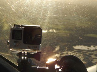 The GoPro used to make the videos
