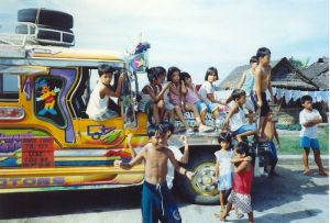 Jeepney in the Phillipines