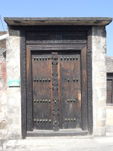 Author: Maclemo, Wikipedia Commons door at Fort Jesus in Mombasa