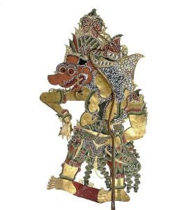 Author: Tropenmuseum, Wikipedia Commons Wayang figure representing Batara Kali