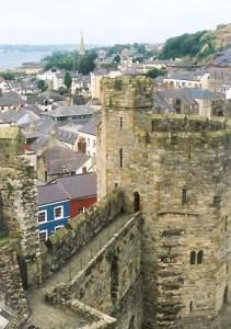 Author: Wikityke via Wikipedia Commons Caernarfon Castle