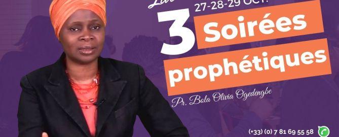 Soirée prophétique à Paris