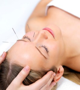 Acupuncture for calm and relaxation.
