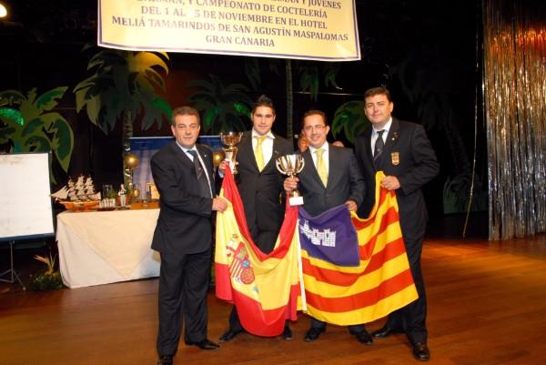 Javi Pont y Rafa Martín campeones de España