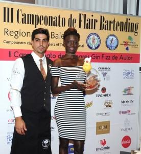 Alberto Pons, campeón del II Campeonato de Gin Fizz de autor