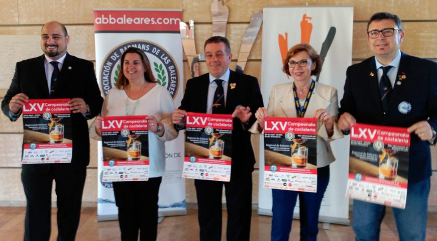 Presentación del LXV Campeonato de Coctelería de las Baleares