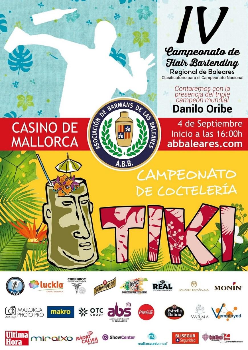 Campeonato de Flair Bartending y Coctelería Tiki de Baleares