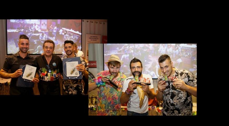 Leo Galvez Campeón en el IV Campeonato de Flair Bartending y Carlos Acorta Campeon del 1º Cocurso Tiki