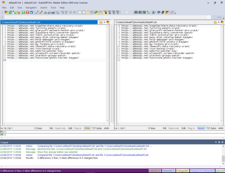 ExamDiff Pro License Key