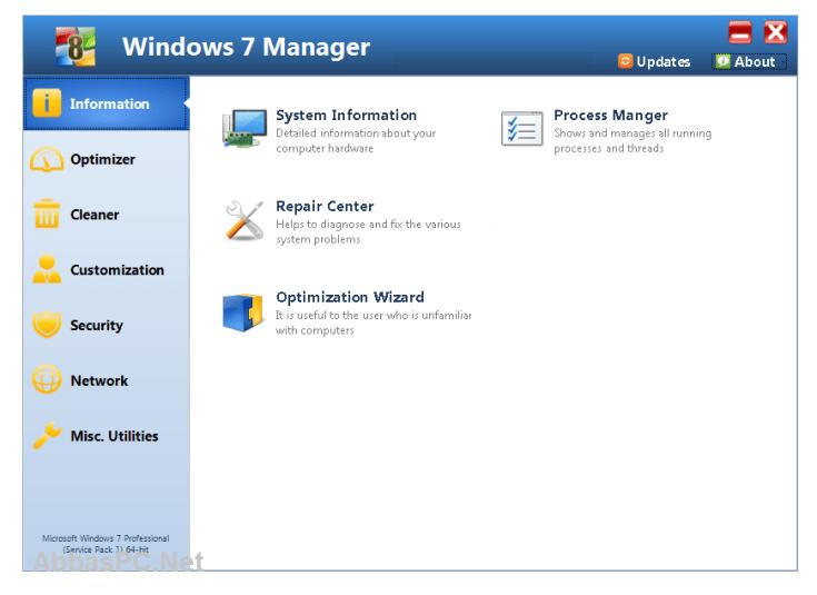 Windows 7 Manager Registration Code