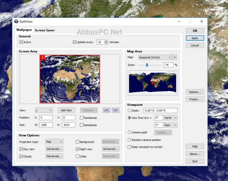 DeskSoft EarthView Full Version