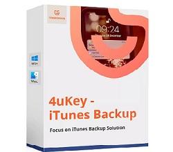 Tenorshare 4uKey iTunes Backup Key