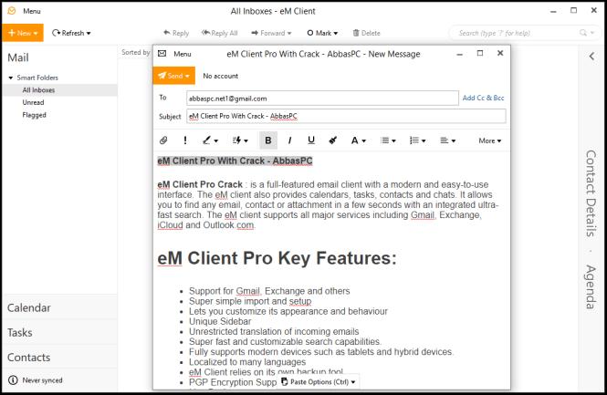 eM Client Pro Activation Key