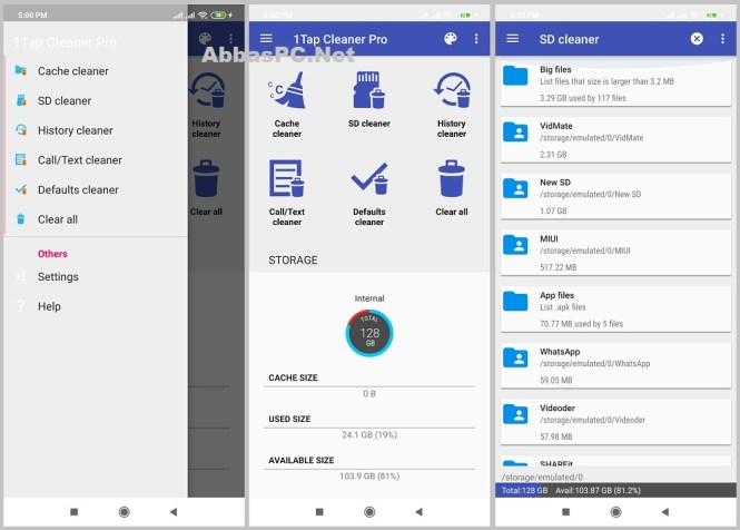 1Tap Cleaner Pro Cracked APK for Android Download