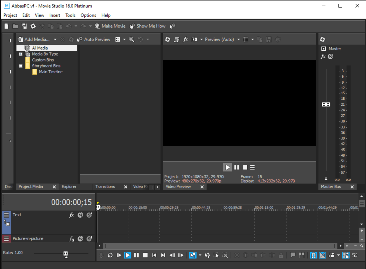 MAGIX VEGAS Movie Studio Platinum Serial Key Download