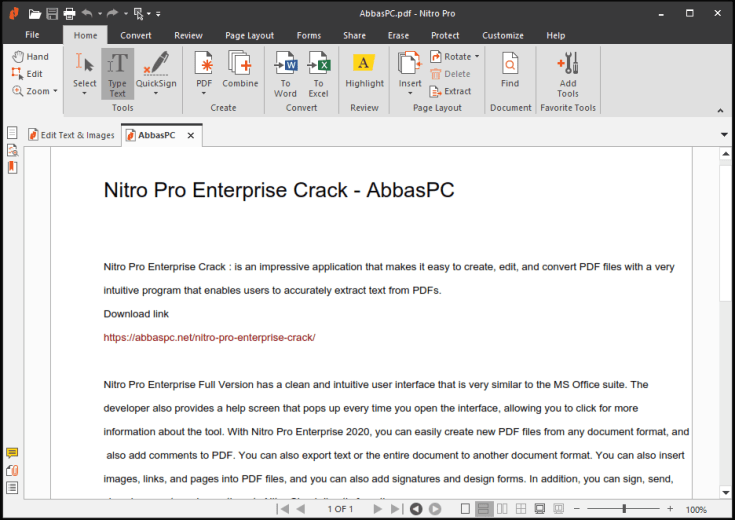 Nitro Pro Enterprise Serial Number Free Download