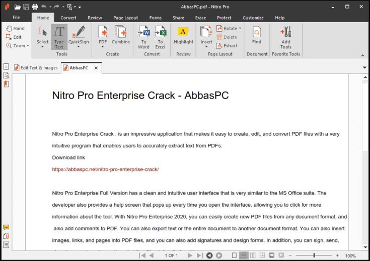 Nitro Pro Enterprise Serial Number Download