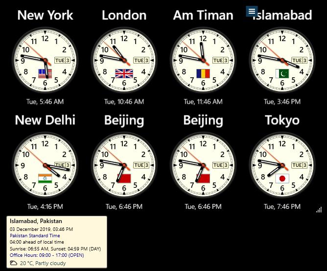 Sharp World Clock License key Download