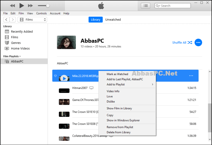 Apple iTunes Free Download for Windows AbbasPC