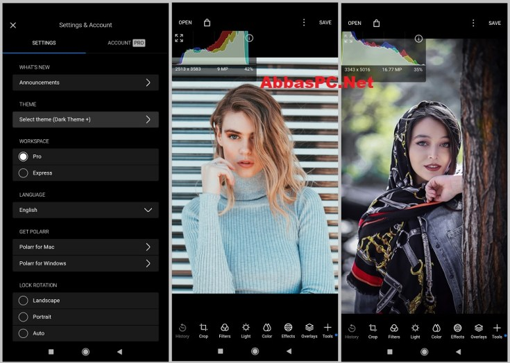 Polarr Photo Editor Pro APK MOD for Android