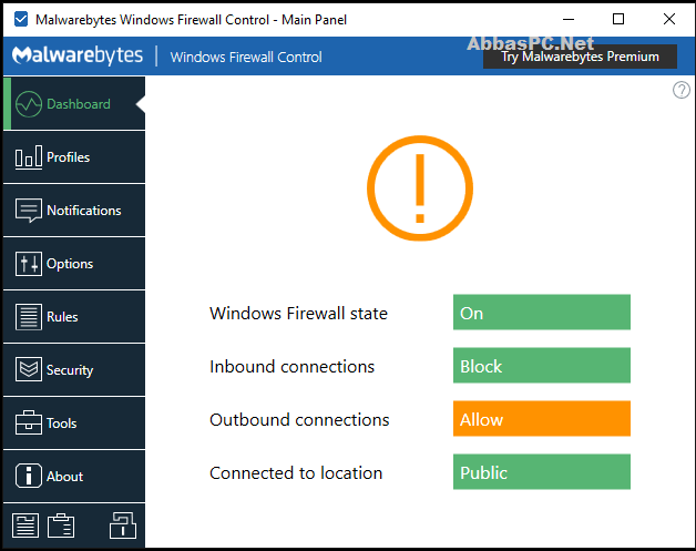 Windows Firewall Control Free Download for PC