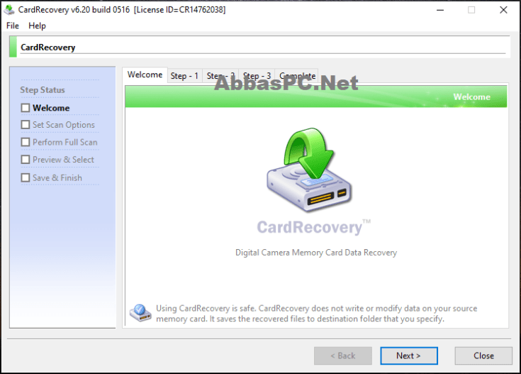 CardRecovery Registration Key Download
