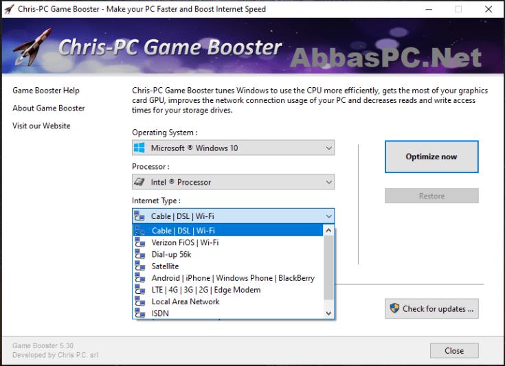 Chris-PC Game Booster Serial Key