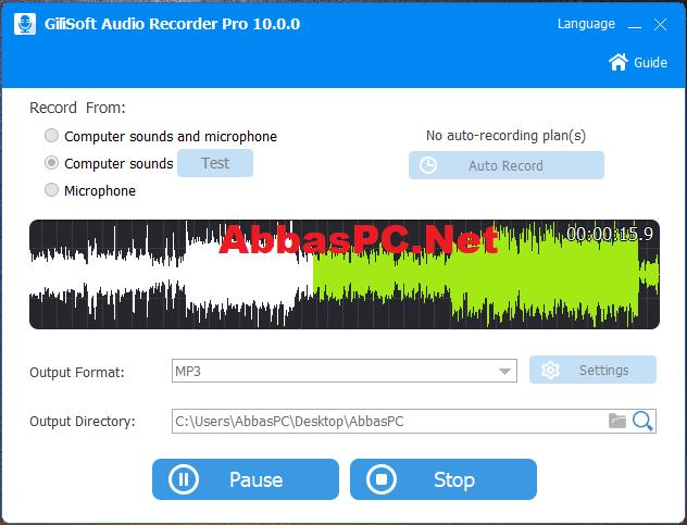 GiliSoft Audio Recorder Pro Registration Code