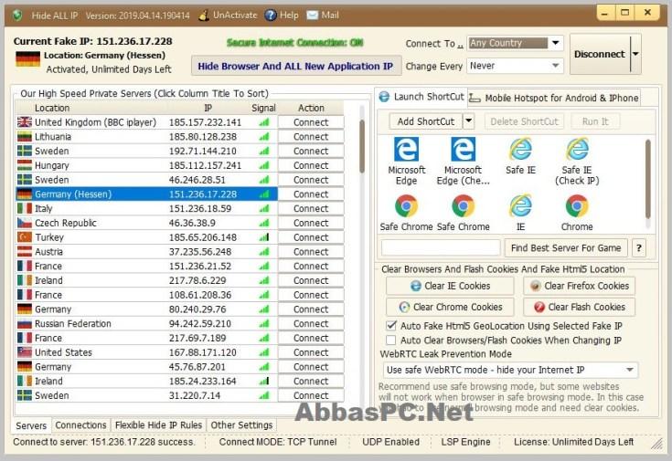 Hide ALL IP License Key Download