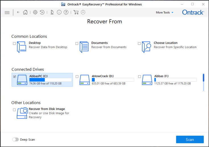 Ontrack EasyRecovery Professional Activation Key