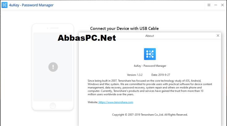 Tenorshare 4uKey Password Manager Registration Code