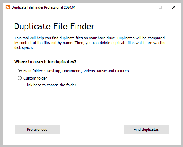 Duplicate File Finder Professional License Key