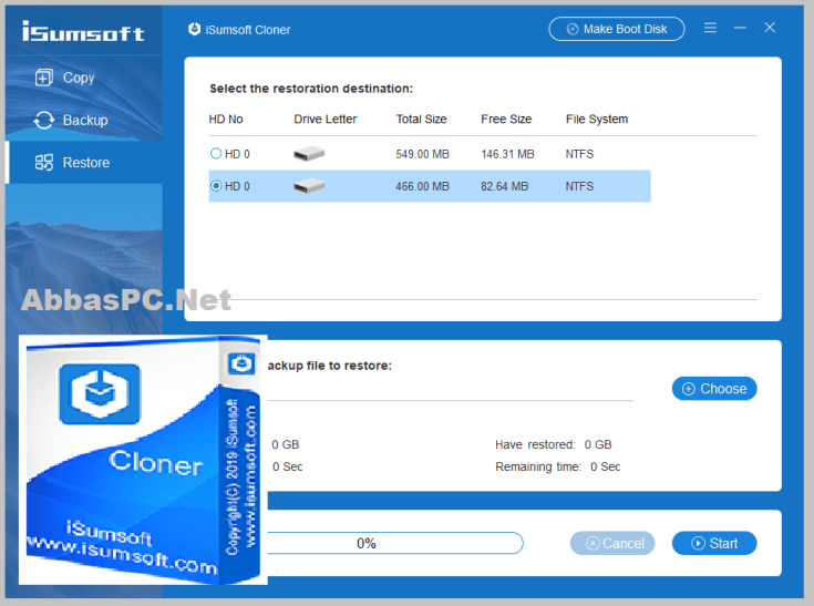 iSumsoft Cloner Free Download