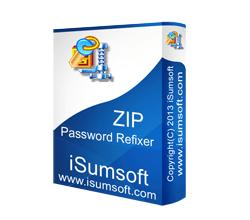 iSumsoft ZIP Password Refixer Crack logo