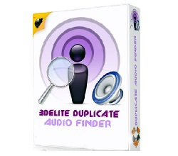 3delite Duplicate MP4 Video and Audio Finder Crack logo