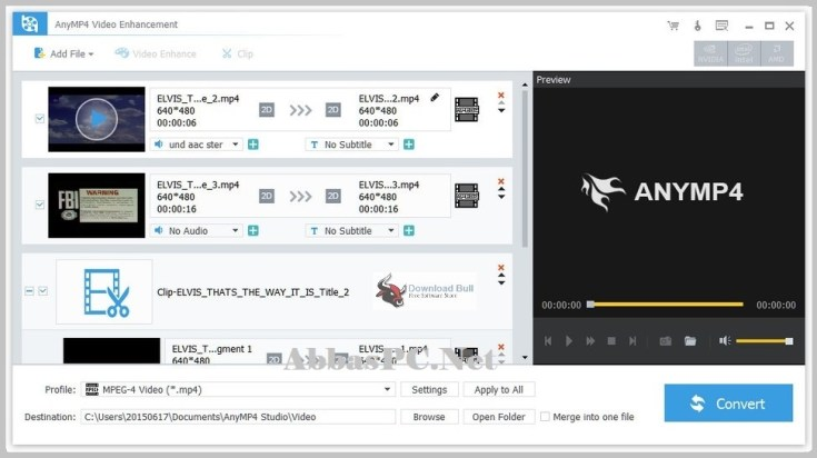 AnyMP4 Video Enhancement Free Download