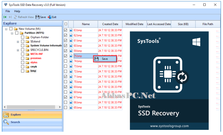SysTools SSD Data Recovery Free Download Full Version