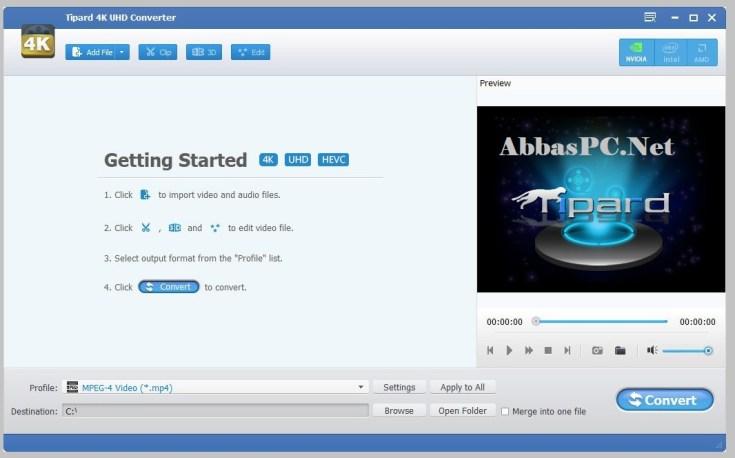 Tipard 4K UHD Converter Free Download