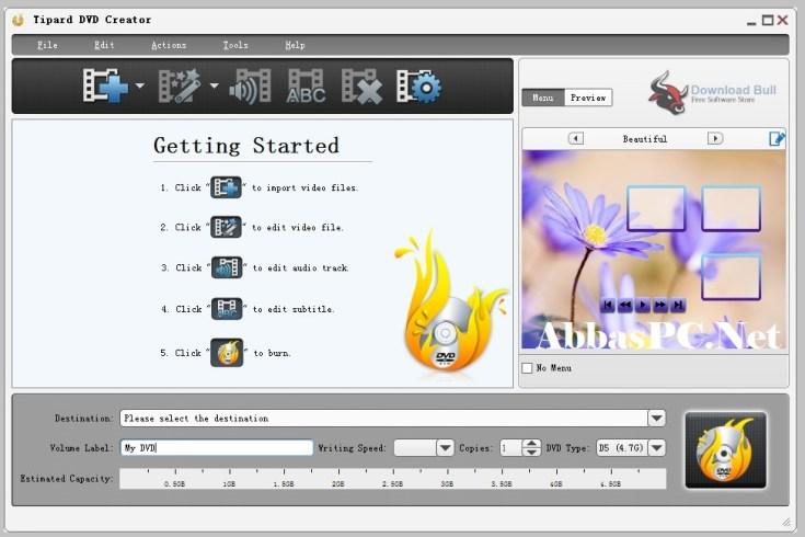 Tipard DVD Creator Registration Number Free Download