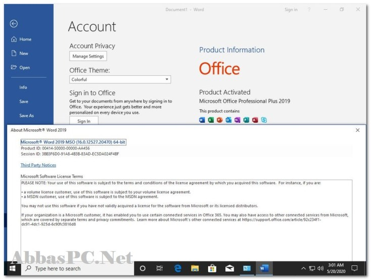Windows 10 Pro Free Download Pre-activated incl Office 2019