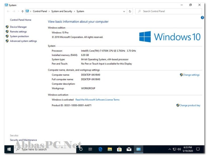 windows 10 Pro Updated Free Download