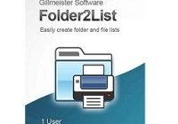 Gillmeister Folder2List Crack Free Download