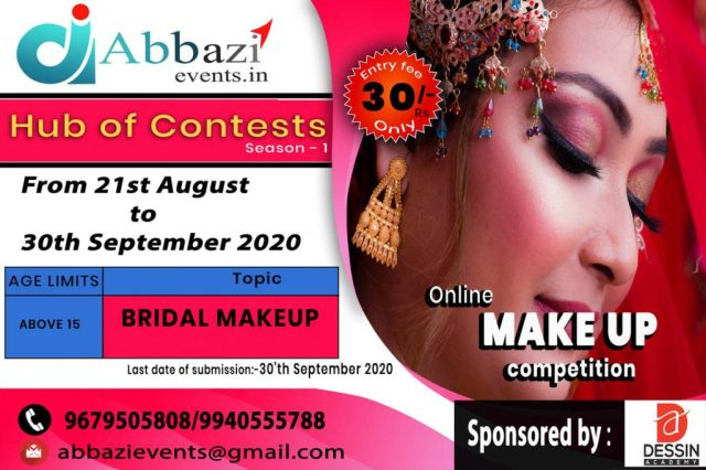 online-make-up-competition-poster