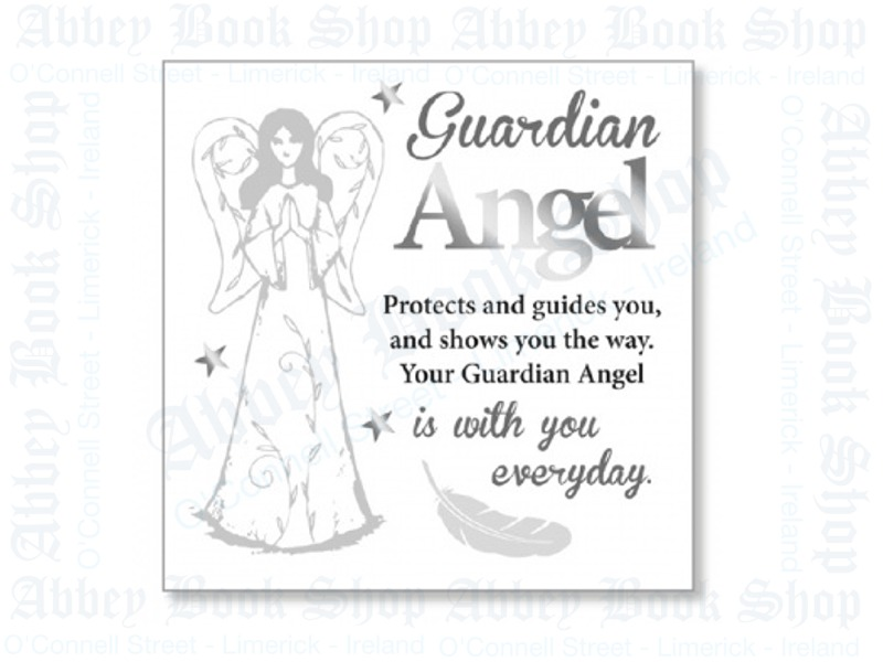 Block Art Wood Plaque – Guardian Angel