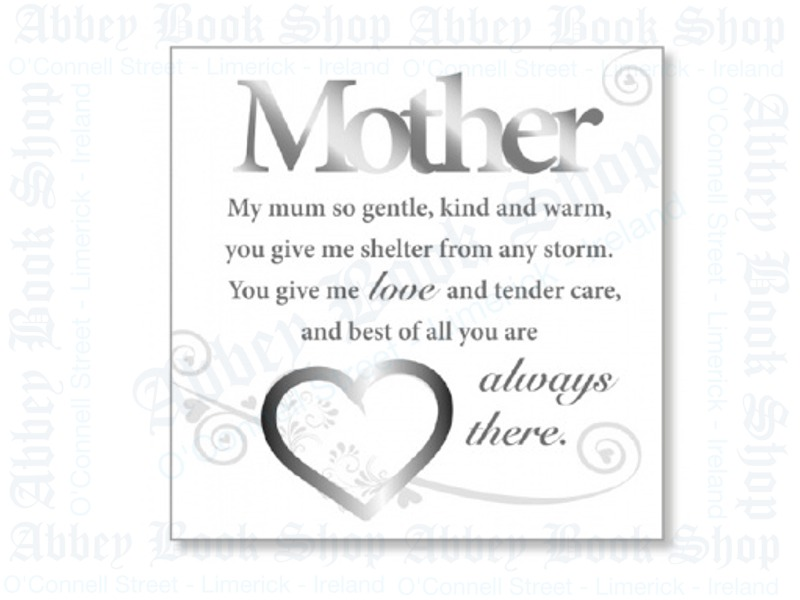 Block Art Wood Plaque – Mother